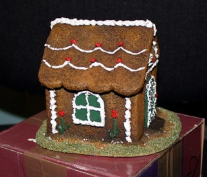 The actual Gingerbread House in 28mm scale
