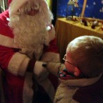 The Warrior with Santa